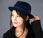 Шляпа BAILEY арт. 7001 TINO (темно-синий)